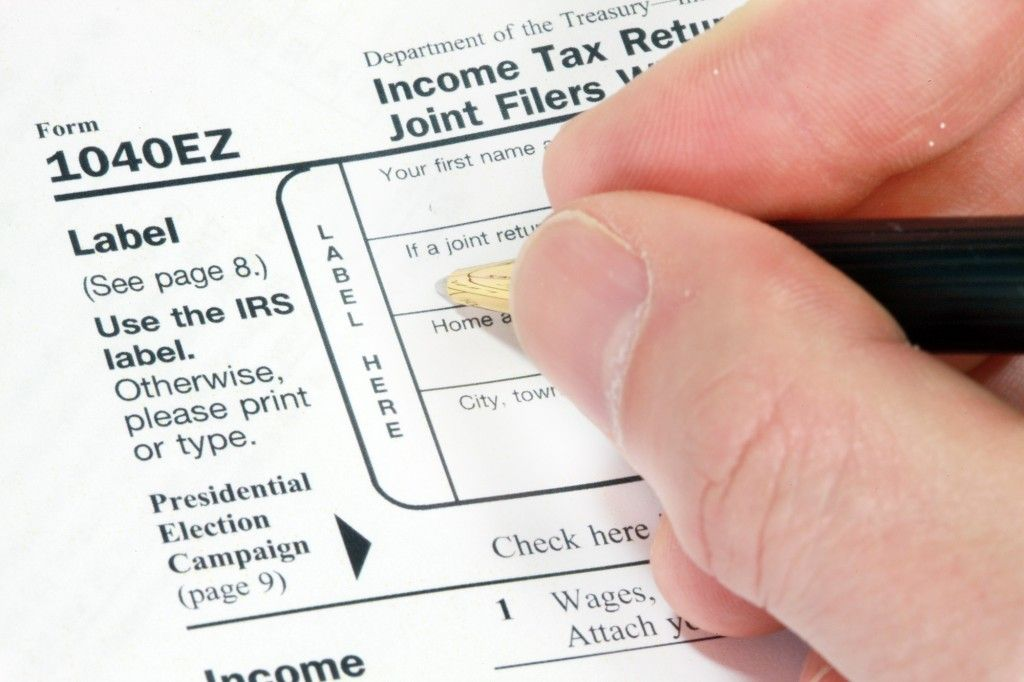 1040EZ Tax Form 1024x682 - What Are the Tax Filing Thresholds for 2016?